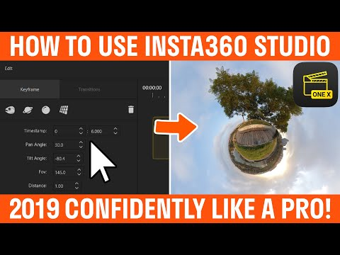 How To Use Insta360 Studio 2019 Tutorial