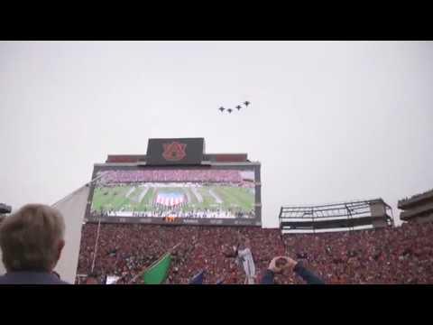 Auburn Alum Leads Iron Bowl Flyover