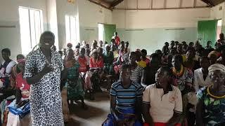 Women beneficiaries of the Literacy programme in Kangole (Karamoja, Uganda)