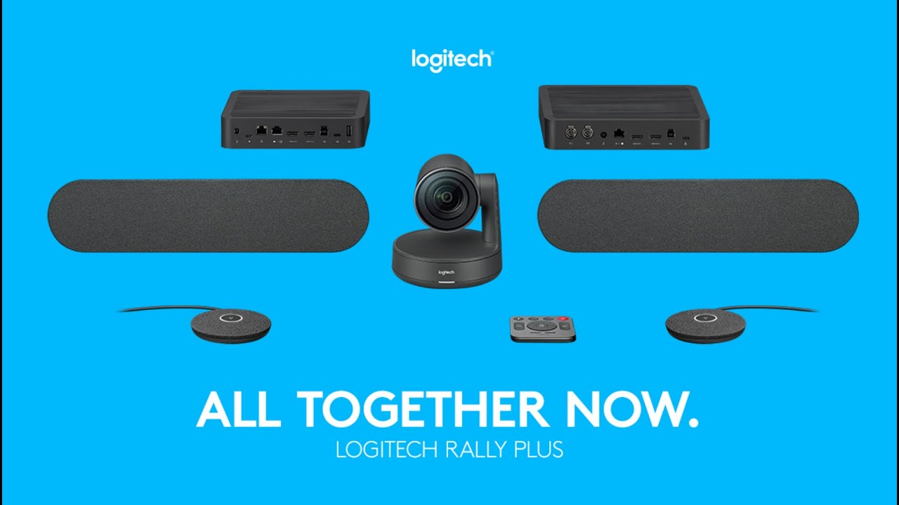 Logitech Rally Plus - Video Conferencing - DEKOM