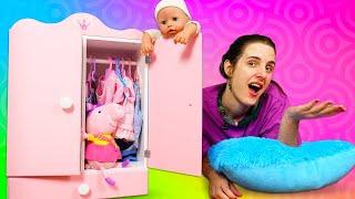 Vidéos en français pour enfants. Bébé Annabelle et Peppa Pig