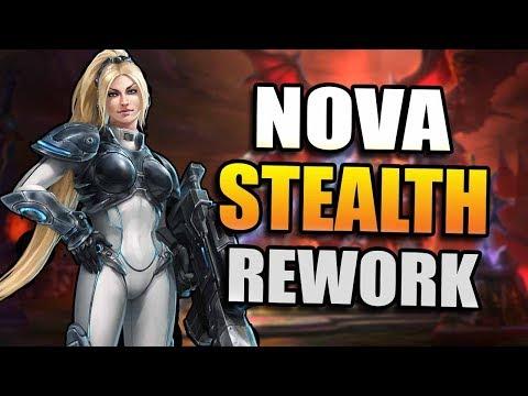 Nova - stealth rework // Heroes of the Storm PTR