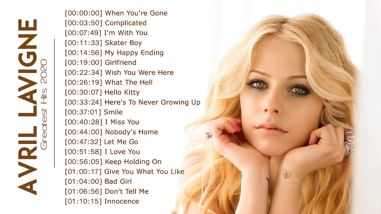 Download Arvil Greatest Hits Full Album - Best Songs of Avril (ArvilLavigne) HD/HQ