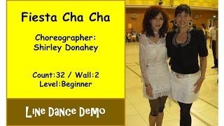 (Line Dance) Fiesta Cha Cha - Shirley Donahey