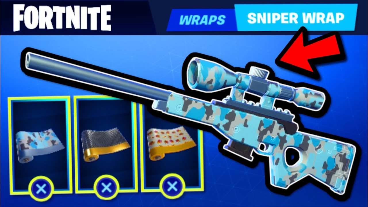 How To Wrap Weapons Vehicles In Fortnite Season 7 New Wrapping