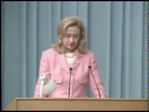 [VOSTFR] Discours de Hillary Rodham Clinton's à Beijing en Chine