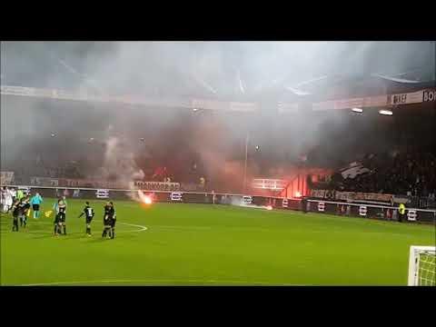 fakkels koppen Willem II vs  NAC
