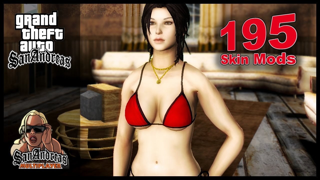 Grand Theft Auto: San Andreas | 195 Skin Mods [HD]
