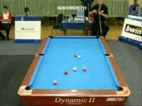 Ainsworth Smith(GBR) - Nolle(GER), 9-ball Youth EC, part 1/3
