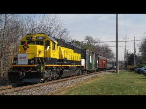 Operation Toy Train 2017: Chasing the Toys for Tots Train on the NYSW