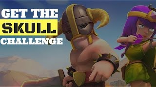 Clash Of Clans Get The Skull challenge | Barbarians VS Archers