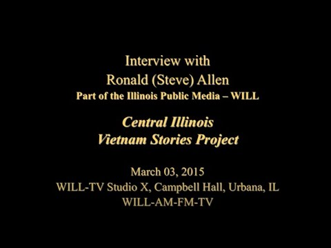 An Interview with Ronald 'Steve' Allen