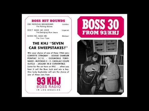 KHJ Boss Radio - Batphone Secret Number Contest