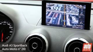 Audi A3 Sportback (GPS avec vue par satellite)