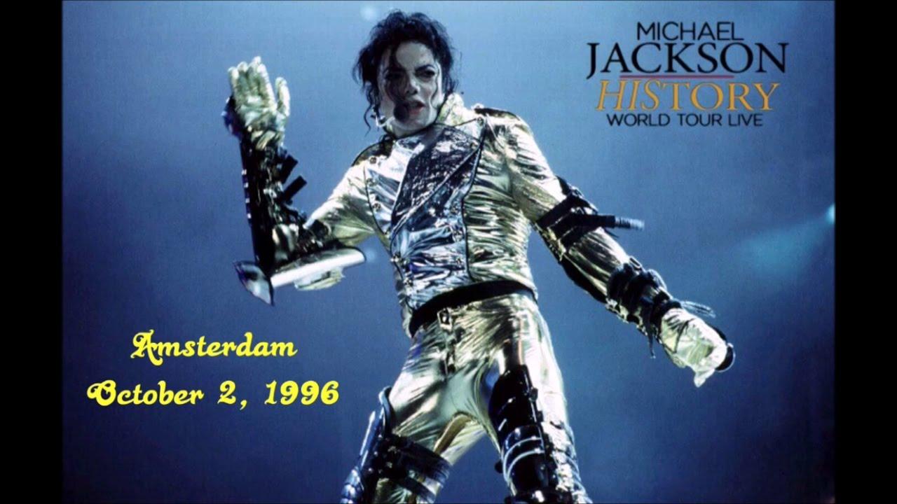 20bcbb56226b87 Michael Jackson - HIStory Tour Amsterdam, Netherlands October 2 ...
