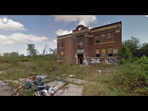 The Super Ghettos of Bankrupt Detroit - Part 1