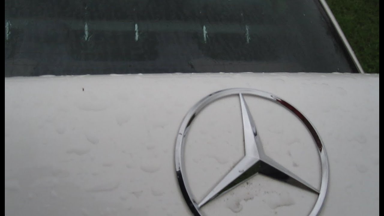 How to replace mercedes trunk badge emblem remove replace for Mercedes benz trunk emblem