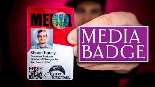 How (and WHY) to Get a Media Badge | Easier Flights and Traveling with Gear