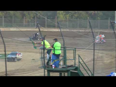 Moler Raceway Park | 7/13/18 | Fan Night | Ohio Thunder IMCA Racesaver Sprint Car Series Heat 2