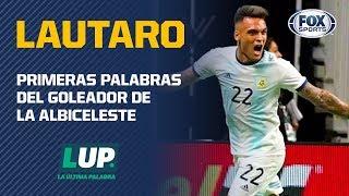 """Lautaro Martínez: """"Feliz por haber convertido tres y ayudar al equipo"""""""