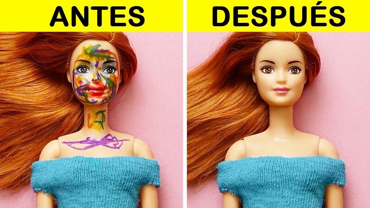 18 Trucos Para Muñecas Barbie Youtube
