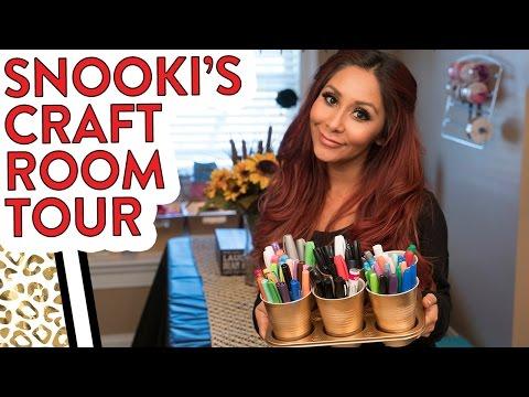 Snooki's Craft Room Tour!