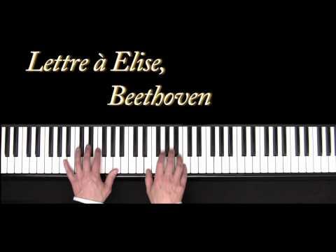 Lettre à Elise - Beethoven - piano - Für Elise