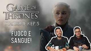 GAME OF THRONES 8X05 RECENSIONE E ANALISI (IL TRONO DI SPADE 8X05) | THE BELLS