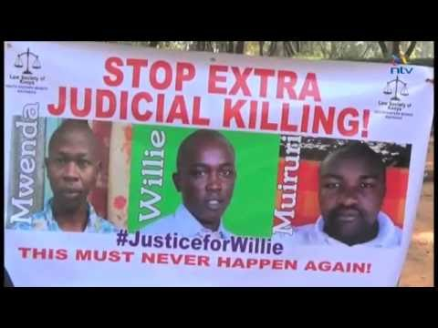 Court rules police killed lawyer Kimani, 2 others