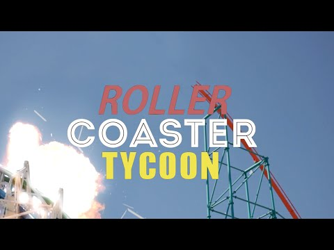 Roller Coaster Tycoon in Real Life!