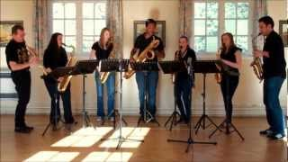 Songs of The British Isles – saxophone ensemble