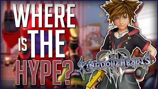 Where Is The Kingdom Hearts 3 Hype?
