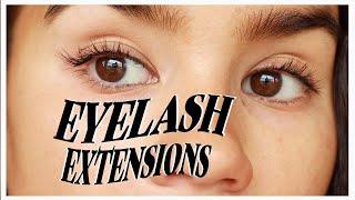 DIY Lash Extensions Tutorial!