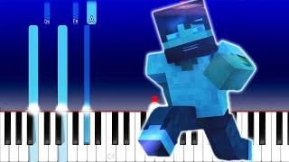 MINECRAFT ENDERMAN RAP/ELEMENT VERSION (Piano Tutorial)