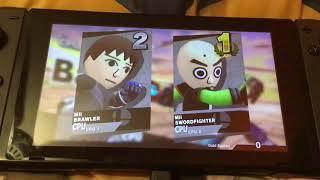 The Baldi's Miisics Tourney (Super Smash Bros. Ultimate)