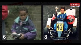 LEWIS HAMILTON FROM CHILD, 6 to 31 YEARS de 6 a 31 AÑOS F1 World Champion 2008 2014 2015 Campeón F1