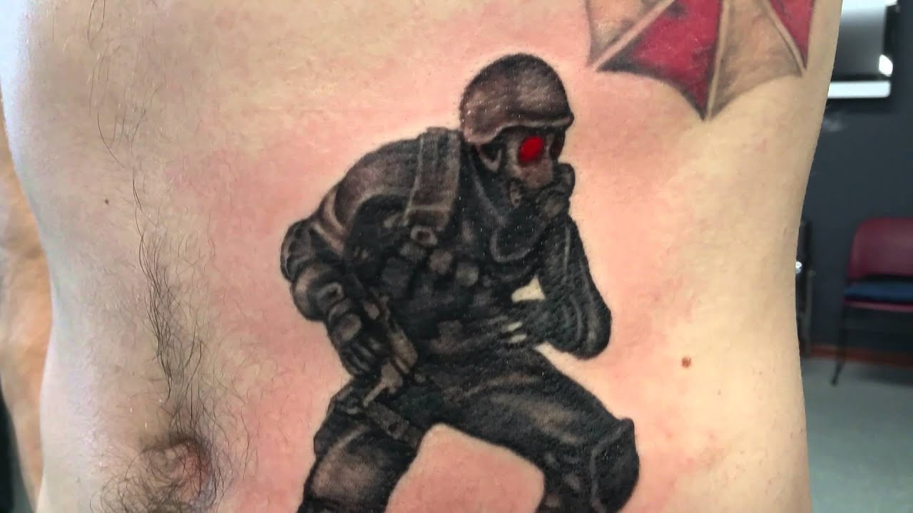 Resident Evil Tattoo - YouTube