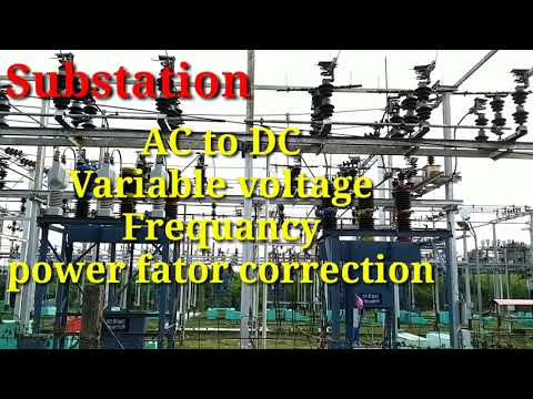 Substation Equipment's In Tamil
