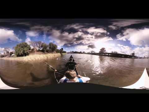 Melbourne Yarra River Rowing-  360˚ video