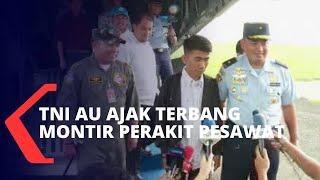 Chaerul, Montir Perakit Pesawat Yang Diajak Terbang Oleh TNI AU