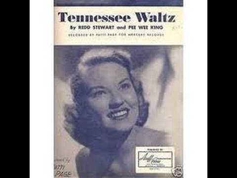 Patti Page  Tennessee Waltz Original Classic with Lyrics