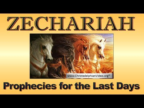 Zechariah Prophecies for the last Days Study 1 They built the house of Yahweh
