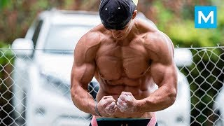 UNSTOPPABLE WORKOUT MONSTER - Vadym Oleynik   Muscle Madness