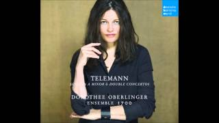Suite in a minor TWV 50:A3: Ouverture (Dorothee Oberlinger & Ensemble 1700)