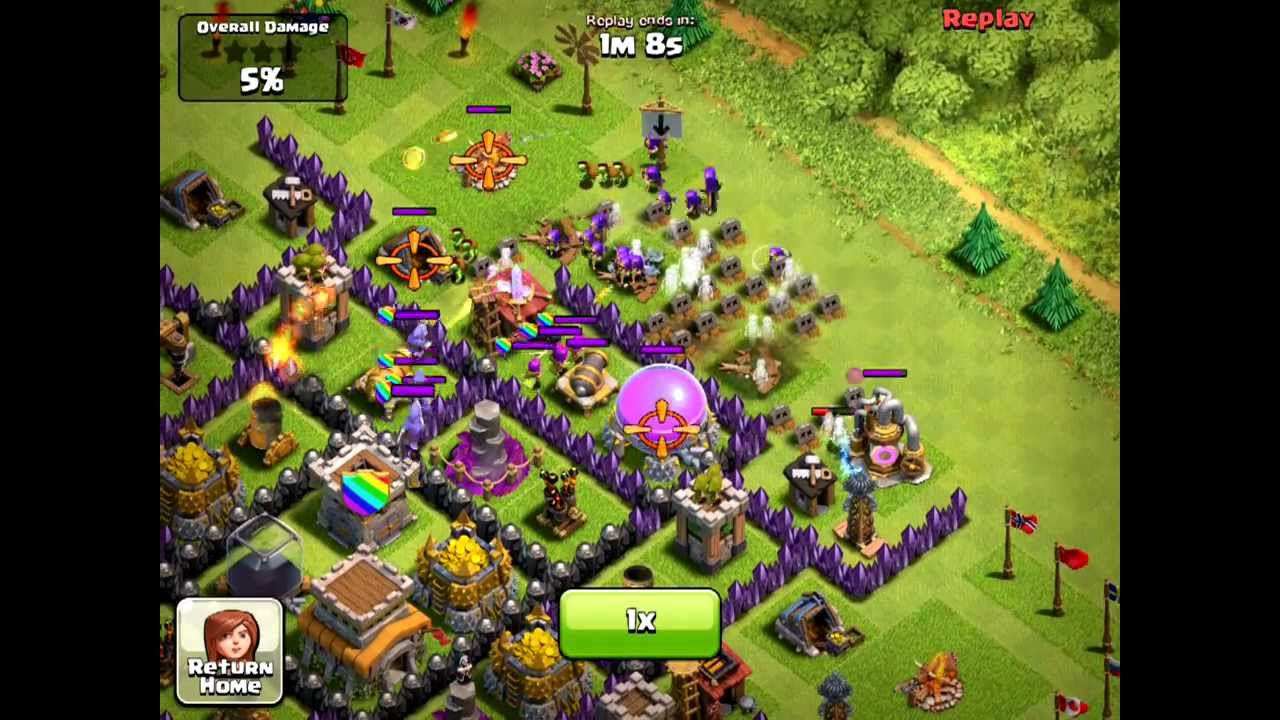 how to draw out archer queen clash of clans