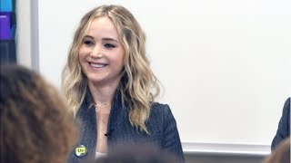 Jennifer Lawrence Teaches Students How Government Really Works