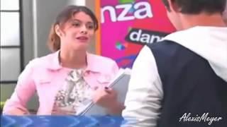 Violetta 2:Violetta Cade E Leon La Prende Al Volo