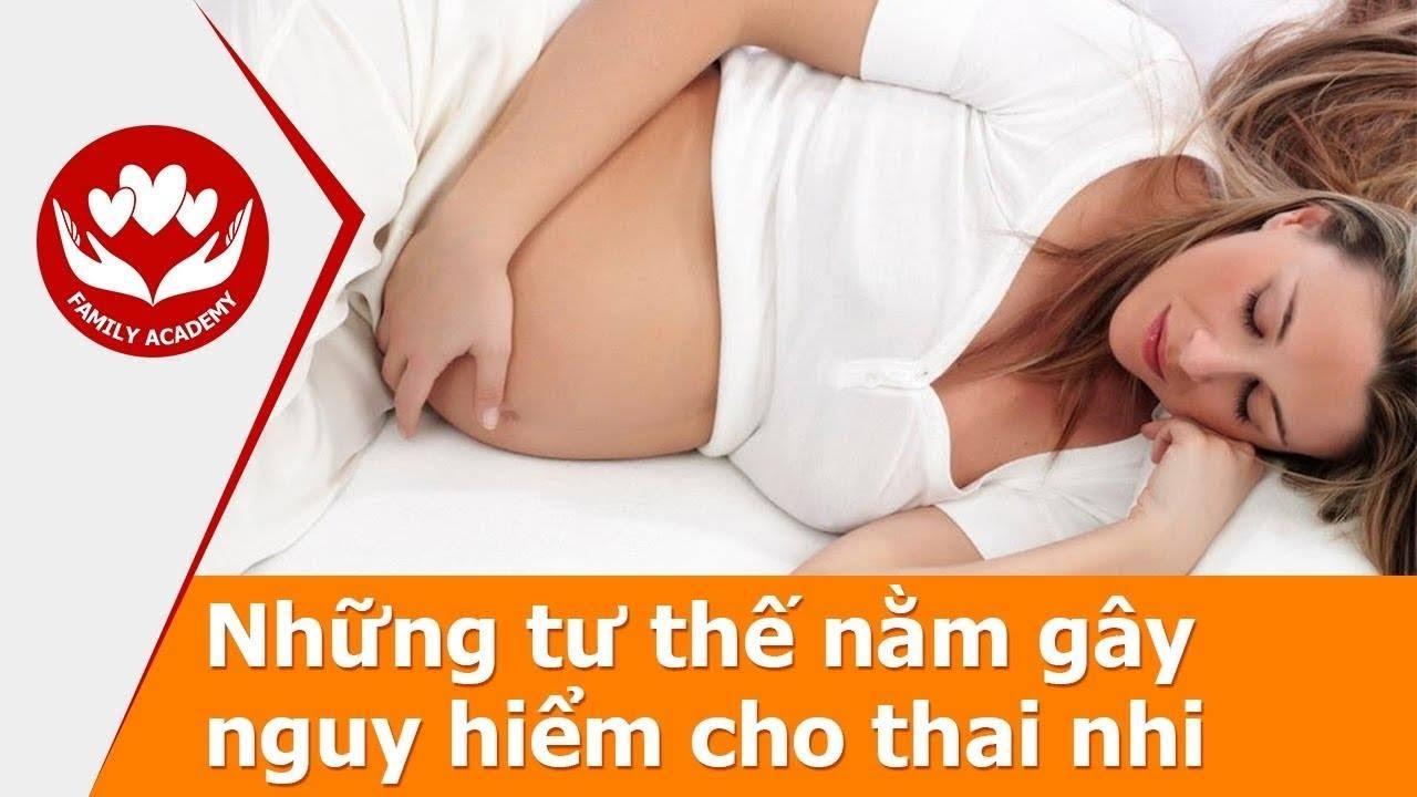 Các Tư Thế Nằm Của Mẹ Bầu Khiến Thai Chết Lưu | Sức Khỏe Mẹ Và Bé