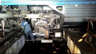 видео Тяговый электродвигатель тепловозов 2ТЭ10М и 3ТЭ10М