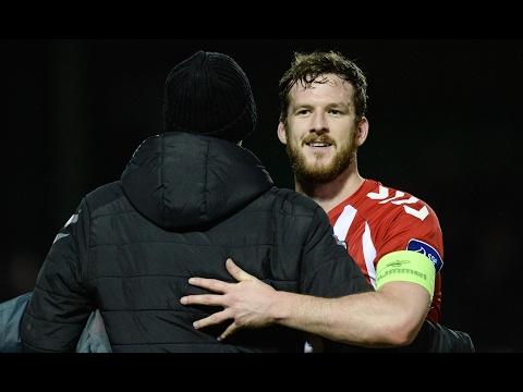 Ryan McBride death 'devastating' for club, says Derry City CEO – video
